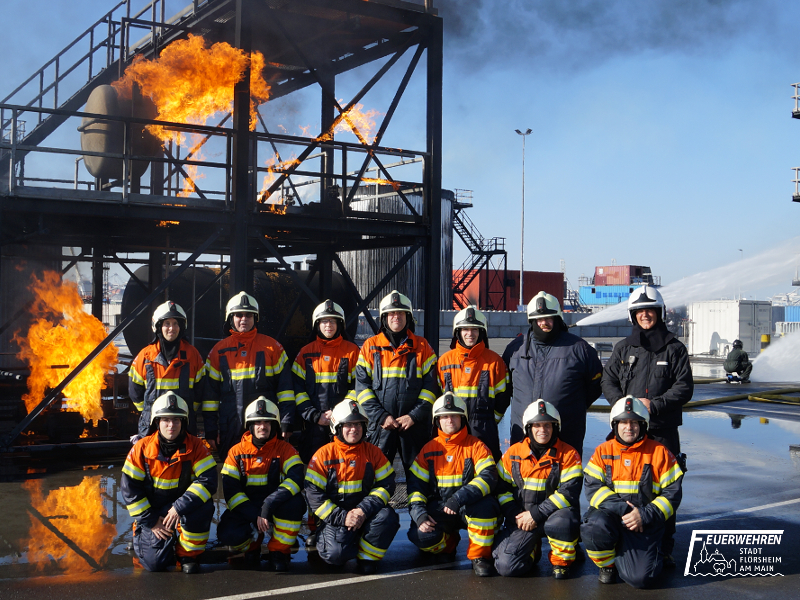 Einsatzleitertraining Falck Fire Academy